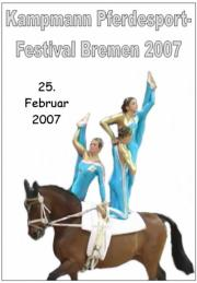 Kampmann Pferdesportfestival Bremen 2007