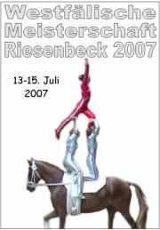 Westfälische Meisterschaft Riesenbeck 2007