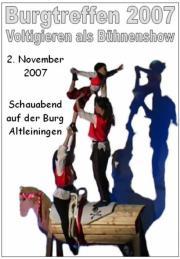 Schauabend auf Burg Altleiningen 2007