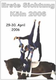 Erste Sichtung des Rheinlands Köln 2006