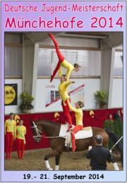 Deutsche Jugendmeisterschaft Voltigieren Münchehofe 2014