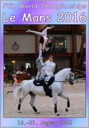 FEI World Vaulting Championships Senior Le Mans 2016