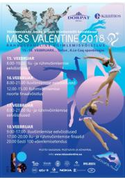 Miss Valentine Cup Tartu 2018 - Photos+Videos