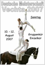 Deutsche Meisterschaft Voltigieren Vechta 2007