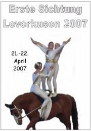Erste Sichtung des Rheinlands Leverkusen 2007