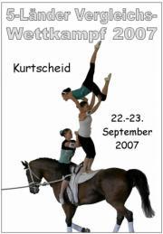 5-Länder Vergleichswettkampf Kurtscheid 2007