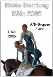 Erste Sichtung des Rheinlands in Köln 2005