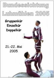 Bundessichtung in Luhmühlen 2005