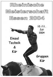 Rheinische Meisterschaft in Essen 2004