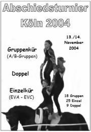 Abschiedsturnier des Rheinlands in Köln 2004