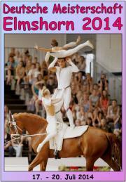 Deutsche Meisterschaft Voltigieren Elmshorn 2014