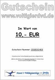 Geschenk-Gutschein / Gift Voucher