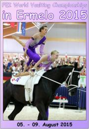 FEI World Vaulting Championships Juniors Ermelo 2015