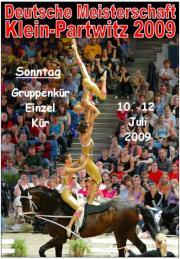 Deutsche Meisterschaft Voltigieren Klein-Partwitz 2009