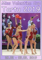 RG/AGG Miss Valentine Cup Tartu 2019 - VideoDVD