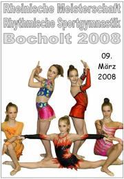 Rheinische Meisterschaft RSG in Bocholt 2008